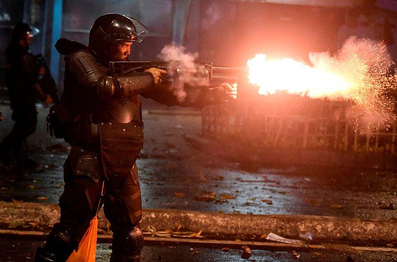 В Индонезии вспыхнули акции протеста