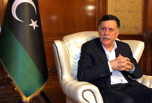 السراج ليورونيوز: العالم يدعم الشرعية والحل العسكري غير ممكن في ليبيا