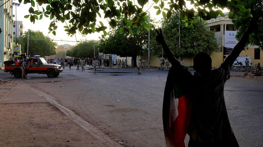 Brutal represión de una protesta en Sudán