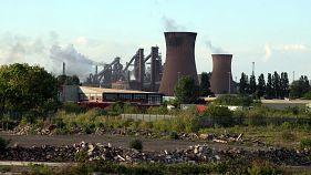 British Steel's Scunthorpe plant