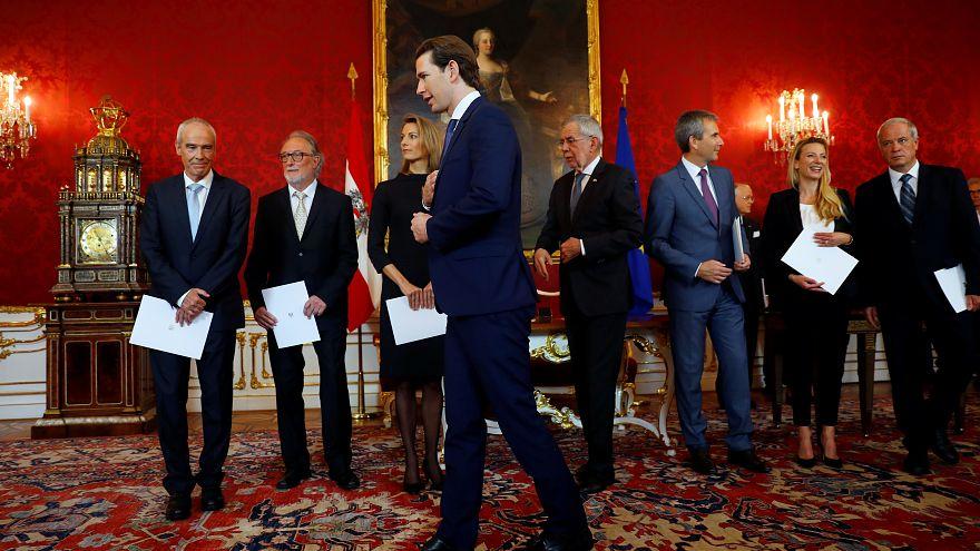 Kanzler Kurz und die neuen Experten-Minister