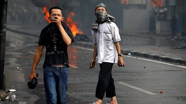 شش کشته و صدها زخمی حاصل ناآرامی پس از انتخابات اندونزی