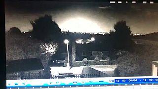 Video | Avustralya'nın güneyine alev alev bir gök cismi düştü