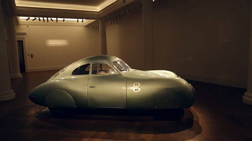 The 1939 Type 64 belonged to company founder Ferdinand Porsche