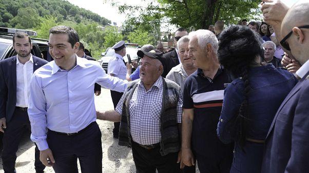 Συνάντηση Τσίπρα- Μπορίσοφ με Έλληνες κατοίκους Βουλγαρίας