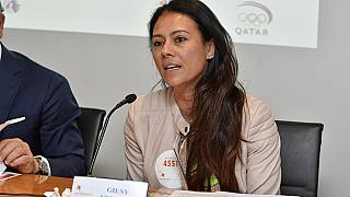 Atleta italiana Giusy Versace  é candidata a eurodeputada