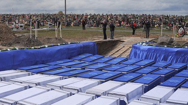 Братская могила для убитых в Брестском гетто