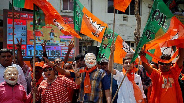 در آستانه اعلام نتایج رسمی انتخابات هند، وزیر خارجه پیروزی «مودی» را تبریک گفت
