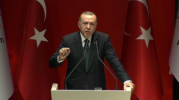 حزب يترأسه أردوغان: لا عيب في عقد اجتماعات بين المخابرات التركية والسورية