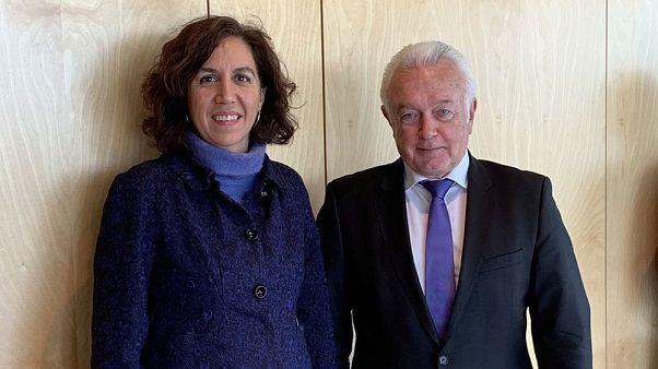 """Irene Lozano, la encargada de""""limpiar la marca España"""", alerta al Bundestag sobre """"desinformación"""""""