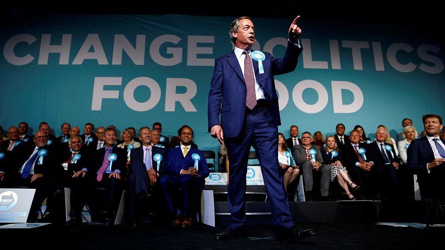 نایجل فاراژ، رهبر حزب برکسیت بریتانیا