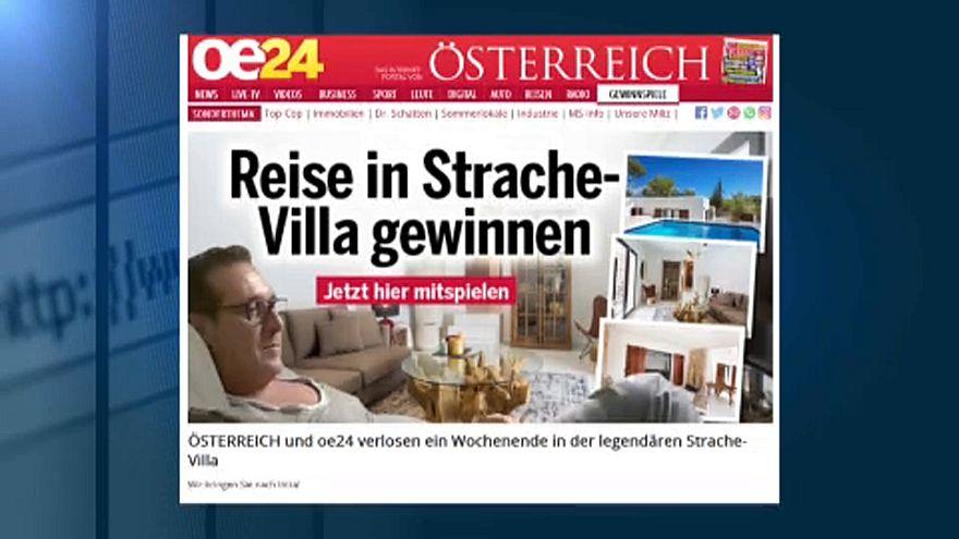 Ibiza-Gate: Reise zu Skandal-Villa zu gewinnen