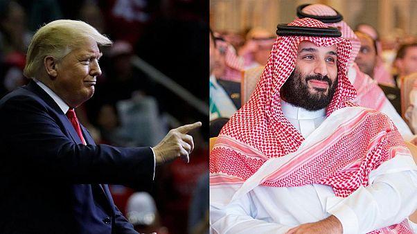 ABD Başkanı Donald Trump / Suudi Veliaht Prens Muhammed bin Selman