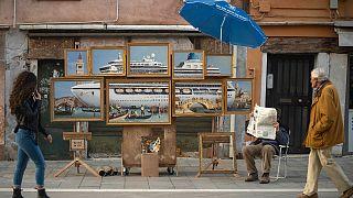 Banksy expone en Venecia sin que nadie se dé cuenta
