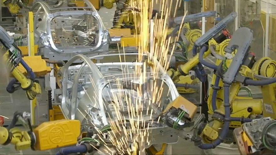 A vártnál gyengébb üzleti tevékenység az eurozónában