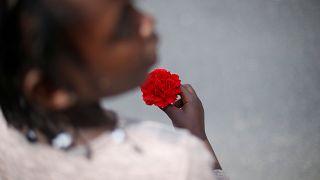 Carnation Revolution's 43rd anniversary in Lisbon, Portugal