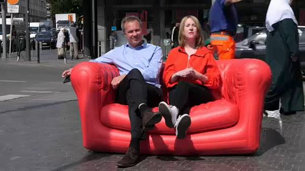 Road Trip Europe Day 50 Brussels: A farewell to the red sofa after more than 10,000km