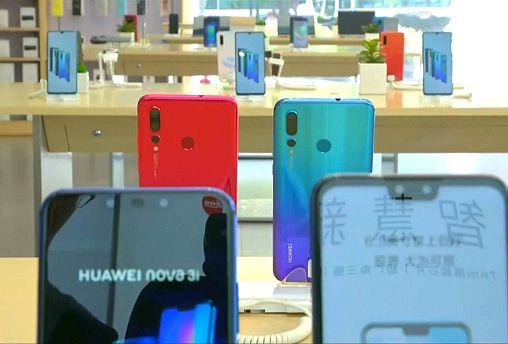 Le géant chinois des smartphones Huawei dans la tourmente