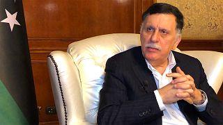 """Libia, al-Sarraj a Euronews: """"L'ingerenza straniera ha aggravato la crisi"""""""