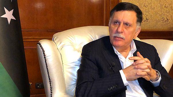 "Fayez al-Sarraj à Euronews: ""Interferência estrangeira na Líbia tem prolongado crises"""