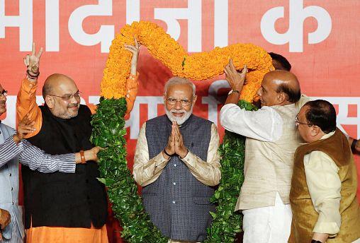 Убедительная победа Нарендры Моди