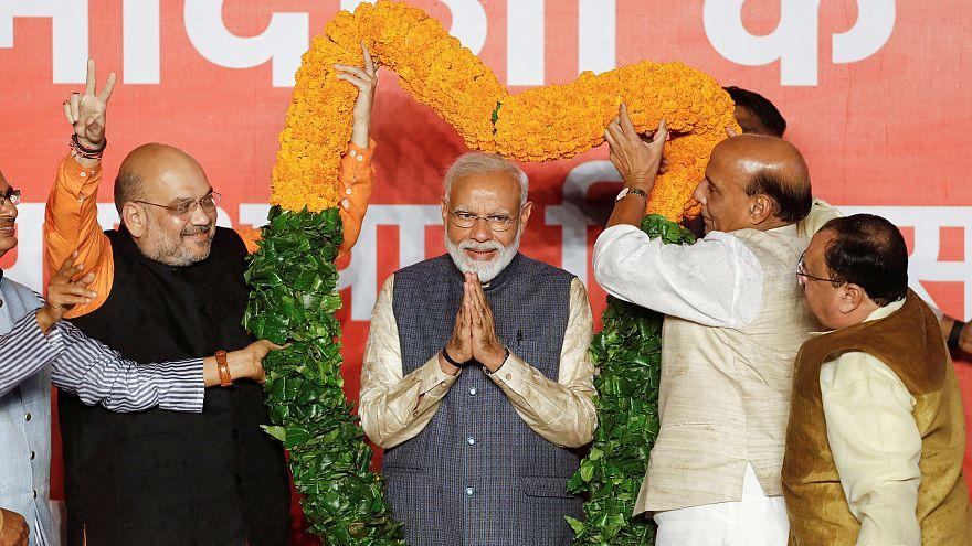 Législatives en Inde : large victoire des nationalistes hindous