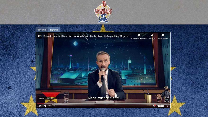 Mindenkinek beszólnak az európai országokból gúnyt űző videóban