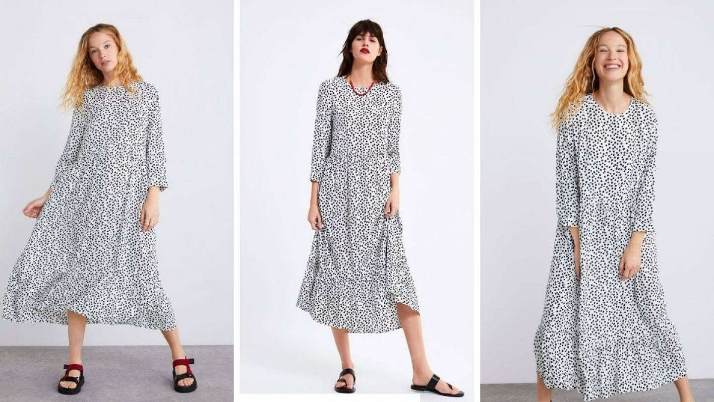 Why this polka dot dress has just gone viral | Living