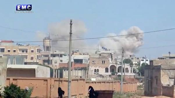آمریکا: گزارشهای متعددی از حمله شیمیایی در سوریه دریافت کردهایم