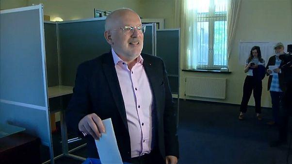 فرانس تيمارمانس زعيم حزب العمال الهولندي