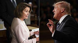 """Donald Trump ve Meclis Başkanı Pelosi arasında söz düellosu: """"Dengesiz"""", """"İşe yaramaz, deli"""""""