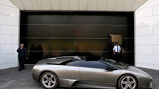 A Lamborghini Murcielago 2007 to be auctioned, Mexico, May 21, 2019