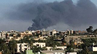 اصابت راکت به محل جلسه نمایندگان مخالف خلیفه حفتر در طرابلس