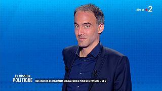 Européennes : Raphaël Glucksmann mise sur le social et l'écologie
