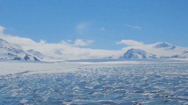 El hielo de la Patagonia se rompe