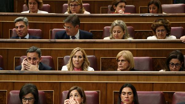 Spanish parliament suspends lawmaker rights of four jailed Catalan MPs