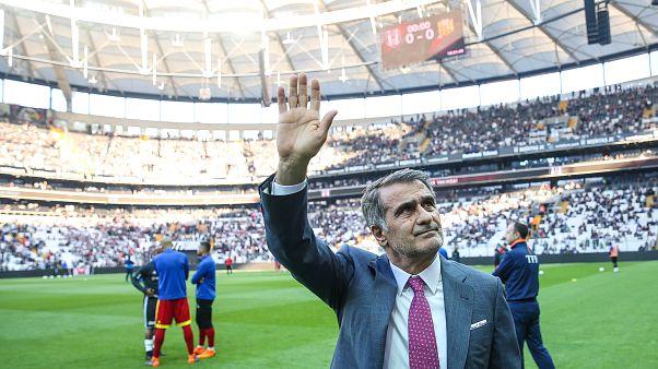 Beşiktaş'ta 2 sezon şampiyonluk yaşayan Şenol Güneş siyah beyazlı ekibe veda ediyor