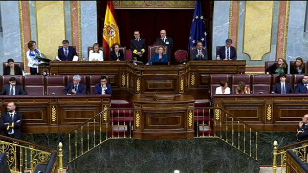 Le parlement espagnol suspend quatre députés catalans poursuivis en justice