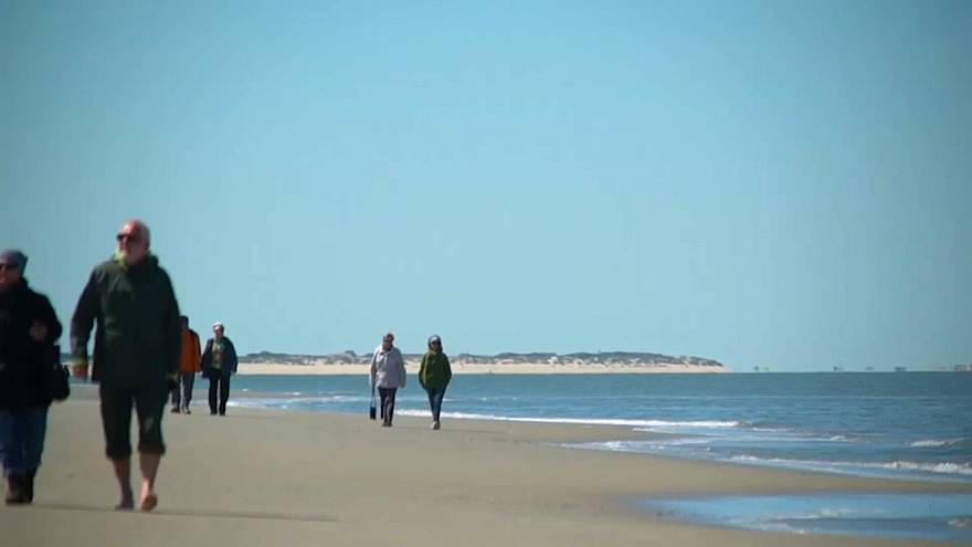 Langeoog, l'île allemande menacée par les eaux