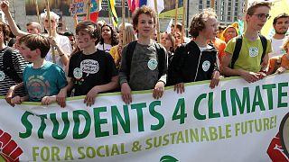 Globális klímasztrájk a túlélésért