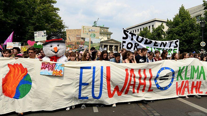 Zehntausende bei Fridays for Future: Europawahl ist Klimawahl
