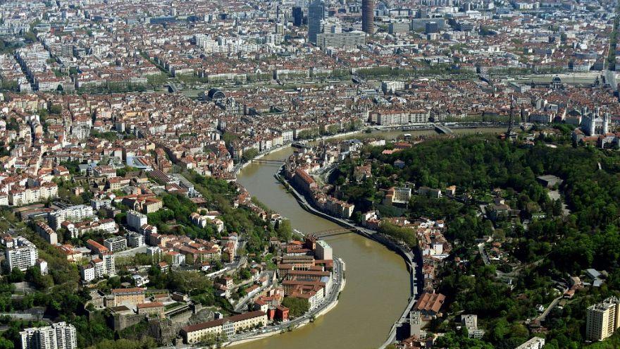 منظر عام لمدينة ليون الفرنسية