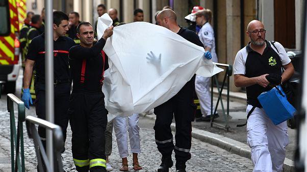 Взрыв в центре Лиона. Есть пострадавшие