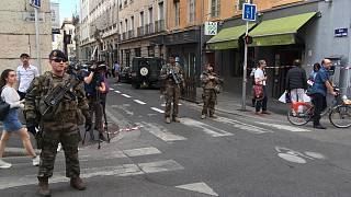 Robbanás történt Lyon belvárosában