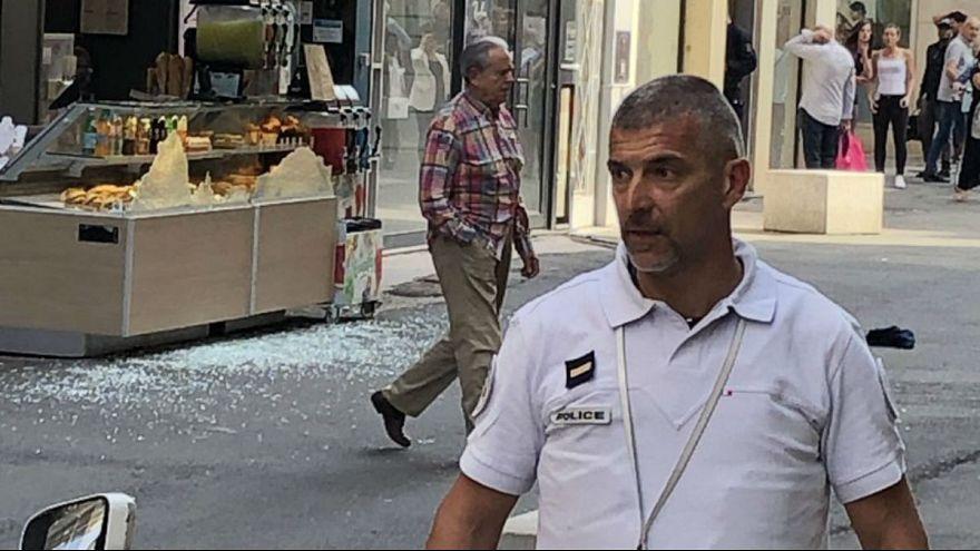 انفجار در لیون فرانسه؛ ۱۳ نفر بطور سطحی زخمی شدند