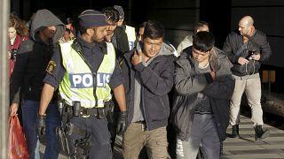 ورود مهاجران به سوئد