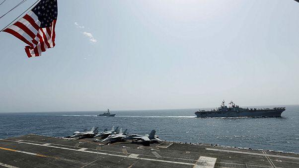 مشاور فرمانده سپاه: ناوهای آمریکا را با سلاحهای سِری غرق میکنیم