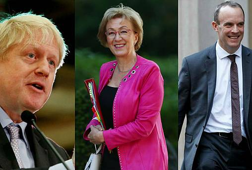 Gove and Leadsom join five others in race to replace May