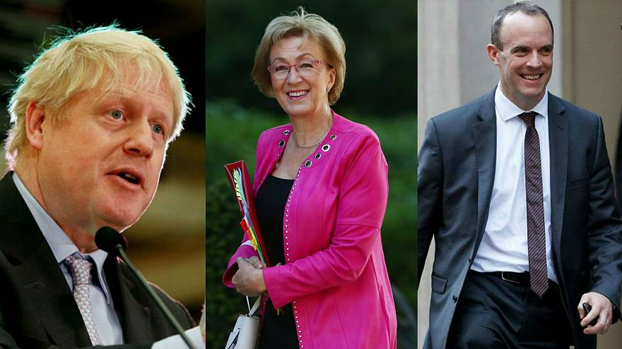 Raab, Leadsom and Gove join five others in race to replace May