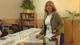 В Словакии проходят выборы в Европарламент
